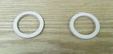 1955 1956 1957 58-64 CHEVROLET DIFFERENTIAL OIL FILL PLUG LEATHER GASKETS  TWO !