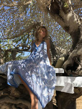 10 pcs Hand Blockprint Cotton Dress, Sexy Open Back Sun Kaftan, Beach Tunics