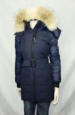 Canada Goose Women's Rowan Blue Parka | Winter Jacket | XS | Coat Fur Down