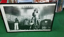 Led Zeppelin Poster Live Stage Early 2000'S Vintage Page Plant