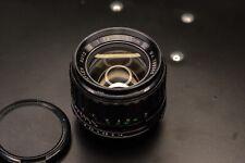 Porst 55mm f1.4 Color Reflex Auto M-42 mount