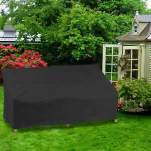 Waterproof Garden 2/3/4 Seater Furniture Cover Outdoor Rattan Bench Seat Covers