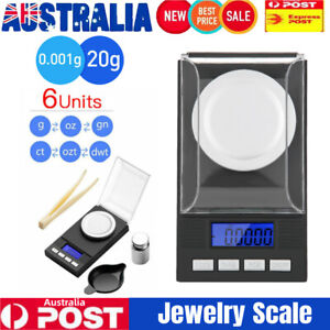 Pocket Digital Jewellery Scales 0.001g 20g Mini Precision Gold Scale Milligram