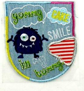Applikation zum Aufbügeln Bügelbild 3-993  Young-Cake-Smile