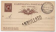 1921 LIBIA CARTOLINA POSTALE 10 CENTESIMI C/3662