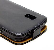 Pochette Housse Etui Coque A Clapet Eco-Cuir Noir Flip Case LG E973 Optimus G