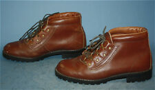 Womens Vtg Sears Brown Leather Mountaineering/Trail/Hiki ng/Outdoors Boots 9.5 D