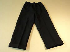 George Dress Pants Pleated Cuffs 100% Polyester Male Kids 4 Blacks Solid