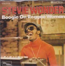 "Stevie Wonder Boogie On Reggae Woman / Seems So Long 70`s Motown 7"""