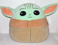 "Disney Star Wars 20"" Baby Yoda Squishmallows Giant Plush Stuff Child Mandalorian"