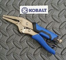 Kobalt 6 1/2 Inch Long Nose Locking Pliers / Vise Grips - New