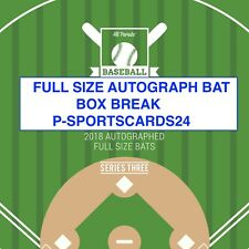 2018 HIT PARADE AUTOGRAPH BASEBALL BAT HOBBY BOX LIVE BREAK MLB-1 TEAM #701