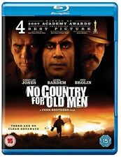 No Country For Old Men (Blu-ray:) Genuine UK Shop Bought Blu-Ray