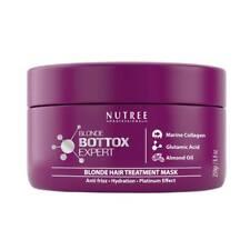 Brazilian Bottox Expert termo keratin blonde mask 8.8 oz by Nutree Professional