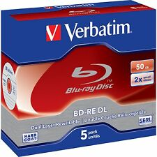 Verbatim Blu-ray Discs 50gb Ve5 (43760)