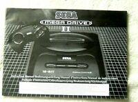 52700 Instruction Booklet - Sega Mega Drive II Instruction Manual - Sega Mega Dr