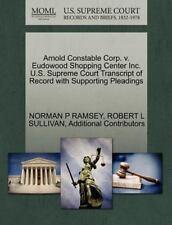 Arnold Constable Corp. V. Eudowood Shopping Center Inc. U.S. Supreme Court Trans