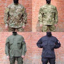 Jacket with valve ventilation GSG-2 MULTICAM, OLIVA, BLACK, A-TACS FG by GARSING