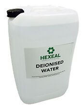 DEIONISED WATER | 25 LITRE | (De Mineralised/De Ionised/Not Distilled) 25L