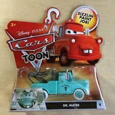 "New Disney Pixar Cars Toon ""Dr. Mater"" #9 Die Cast Toy Car Mattel - HTF RARE"