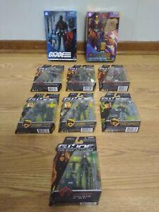 Hasbro GI Joe Rise of Cobra & Classified Snake Eyes, Profit Director Destro Lot!