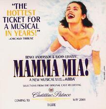 ORIGINAL CAST RECORDING - MAMMA MIA: ABBA MUSICAL - CD, 2000 - SAMPLER