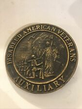 DISABLED AMERICAN VETERANS AUXILIARY MEMORIAL GRAVE MARKER