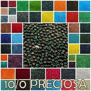 10/0 Preciosa Czech Seed Beads 49102-97090
