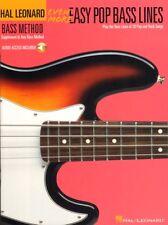 Even More Easy Pop Bass Lines Play-Along für E-Bass Noten mit Download Code