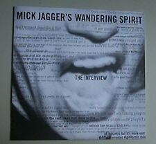 MICK JAGGER - WANDERING SPIRIT : THE INTERVIEW (COLLECTIBLE AUDIO CD)
