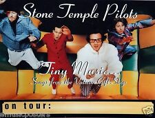 "STONE TEMPLE PILOTS ""TINY MUSIC"" U.S. PROMO POSTER - Grunge Rock, Scott Weiland"