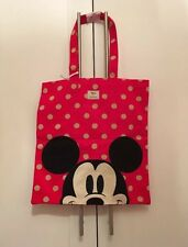 Cath Kidston X Disney Mickey Cotton Spot Book Bag- Brand New & Sold Out!'