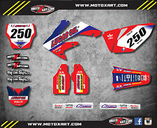 Honda CRF 250 - 2003 2004 2005 Full Custom Graphic Kit ACTIVE Style sticker kit