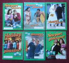Lot #4 of 20 Different NEWPORT Cigarettes Print Ads ~ PLEASURE Friends & Couples