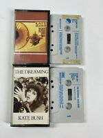 Kate Bush The Dreaming & The Kick Inside Cassette Tapes TESTED **FREE P&P**