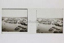 Egypte Plaque verre Positif N° 24 Stéréo Stereoview Vintage