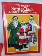 New ListingSanta Claus Paper Dolls in Full Color Dover Uncut Tom Tierney Christmas