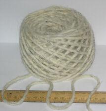 100g  100% pure British undyed Swaledale Thick Chunky knitting wool Cream Grey