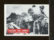 1965 Philadelphia War Bulletin #31 Passing The Ammo VG-EX (JU14)