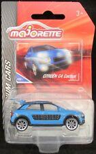 Majorette Citroen C4 Cactus BLUE Premium Cars (7.5cm) new on card
