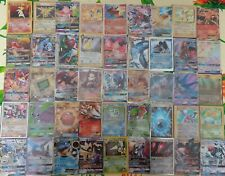 LOTTO 10 Carte POKEMON SHINING/HYPER/GOLD/HOLO/CHARIZARD-CODICE TCGO GARANTITI