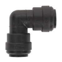 JOHN GUEST PUSH FIT 12MM WATER HOSE PIPE FITTING EQUAL ELBOW CONNECTOR CARAVAN