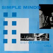 SIMPLE MINDS - Sister Feelings Call / 1981 Virgin France / LP