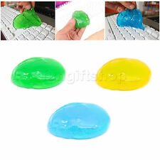 Magic Cleaner Cleaning Compound Jelly Dust Slimy Soft Gel For Keyboard Laptop