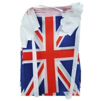 Union Jack Bunting 9 metres/30ft Long with 30 Flags L1J6