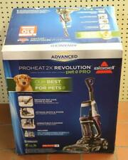 New -Bissell Proheat 2X Revolution Pet Pro Full Size Carpet Cleaner Steamer 1964
