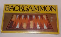 Vintage 1981 WHITMAN BACKGAMMON BOARD GAME 4832 Factory Sealed
