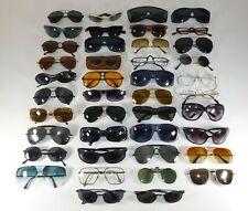 Lot of 42 Assorted Sun Glasses Eye Vintage Modern Aviator Frame Wholesale Resale