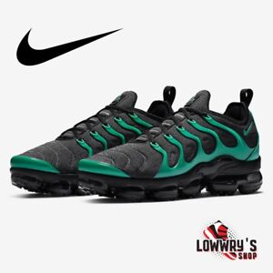 Nike Air Vapormax Plus Black Emerald Green New Men's Shoes Sz 8.5 (924453-013)