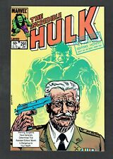 Incredible Hulk #291 Marvel Comics Bronze Age 1983 NM- Assistant Editors Month